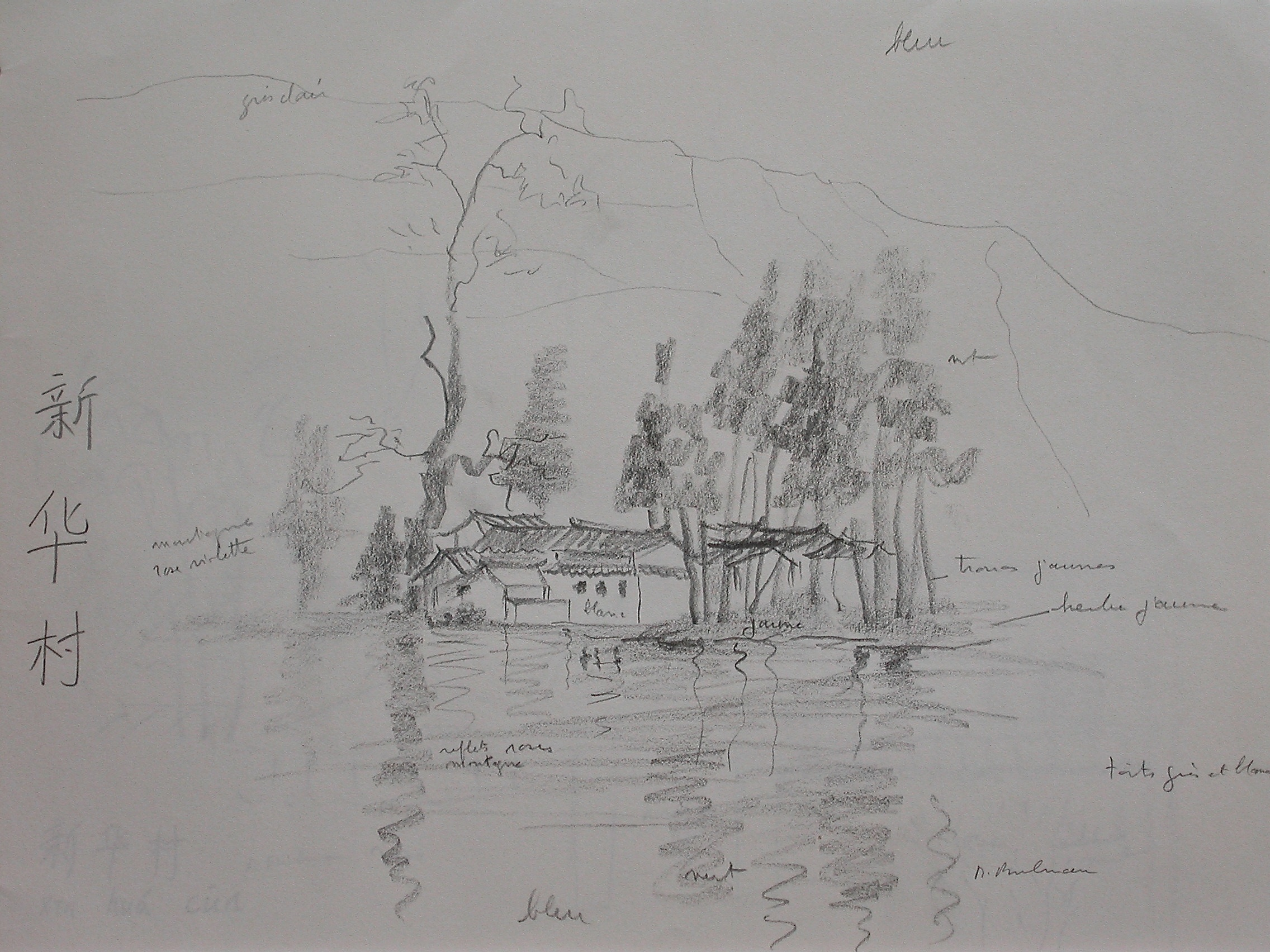 Village at waterfront
