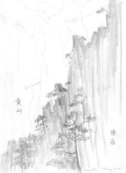 Strange stone, Huangshan mountain