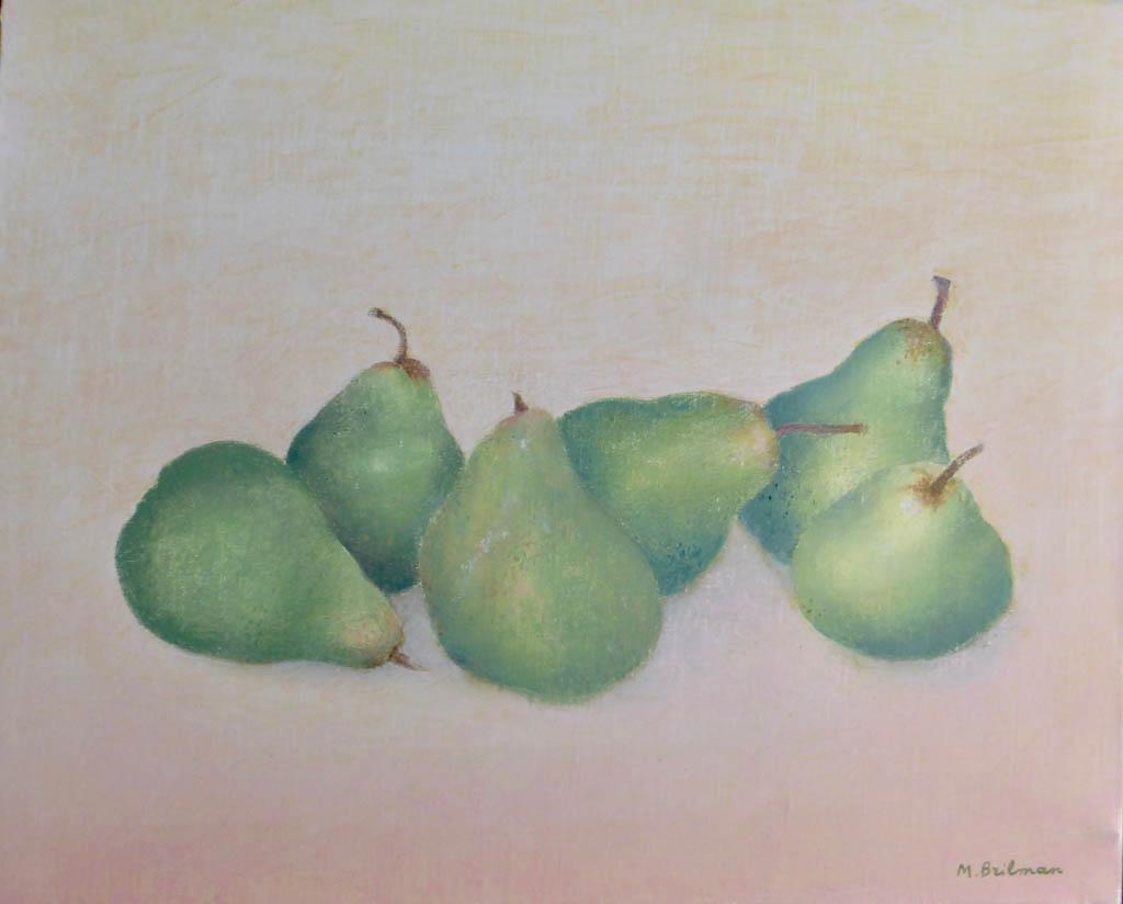 Les poires vertes