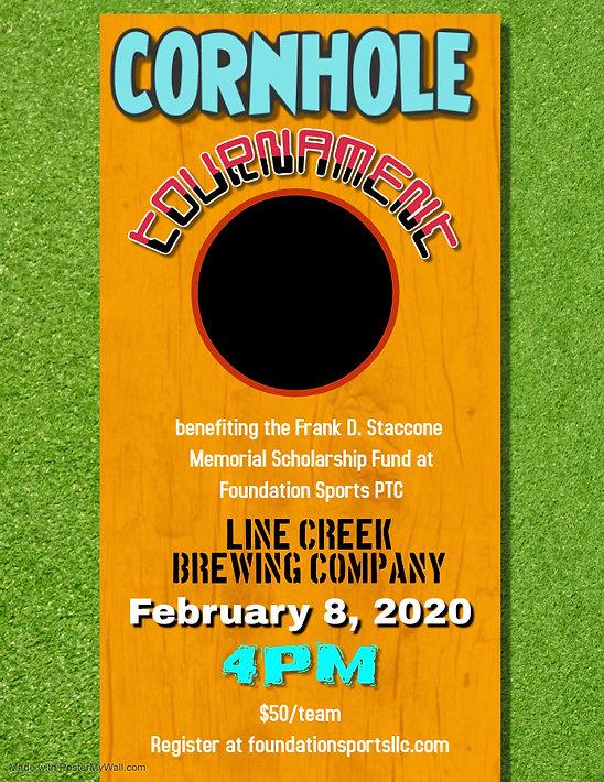 Cornhole Tournament Bean Bag Toss Event