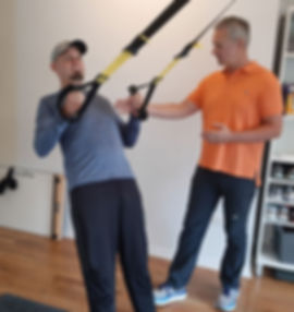 Chicago in Shape TRX workout
