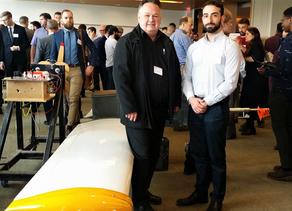 Sky Canoe judges at Carleton University Design Forum