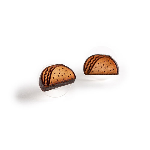 Taco Stud Earrings
