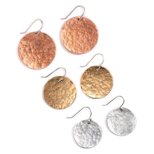 High Desert - Full Moon Earrings - Low Key