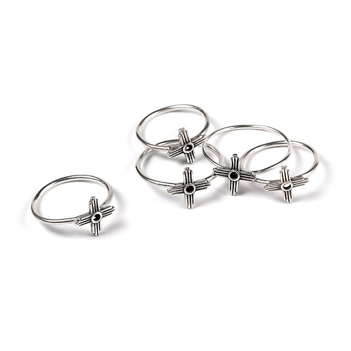 Zia Ring - Sterling Silver