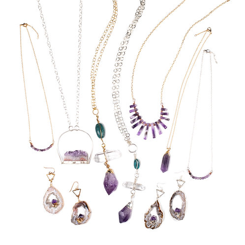 All listing for the Limited Edition Amethyst Collection