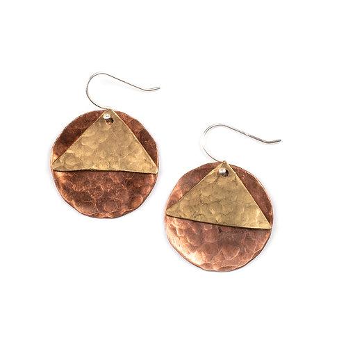 Low Key - High Desert Mountain Earrings