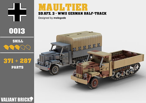 Maultier Instructions