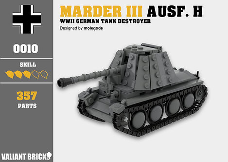 Marder 38(t) Ausf. H Instructions