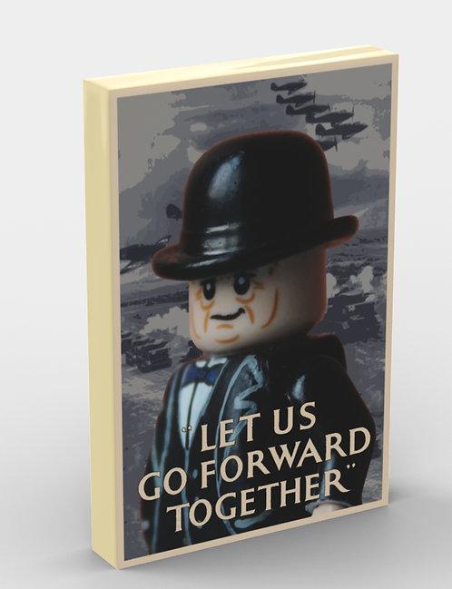 Propaganda Tile: Churchill