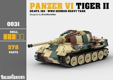 Panzer VI Tiger II Instructions