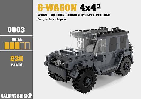 G-Wagon 4×4² Instructions