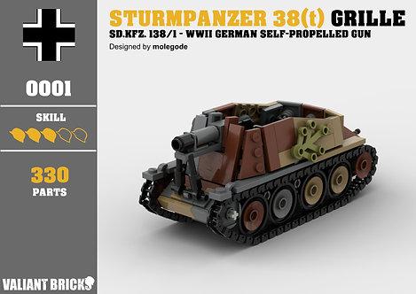 Camo Sturmpanzer 38(t) Grille