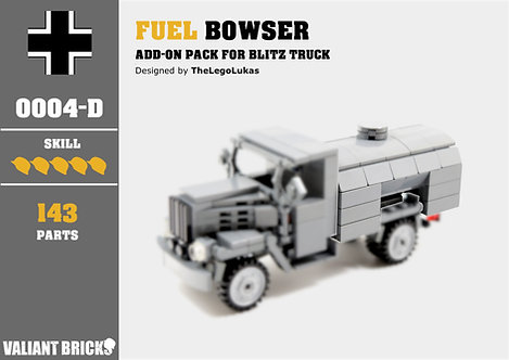 Fuel Bowser Add-On for Blitz Truck