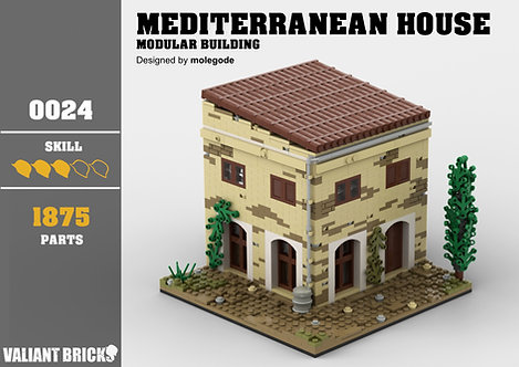Mediterranean House Instructions