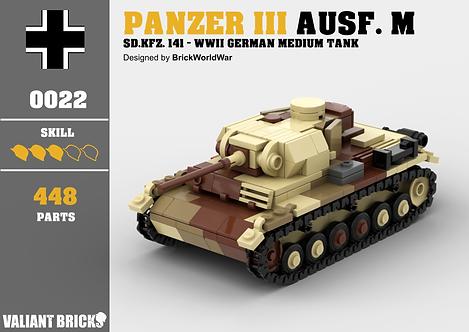 Panzer III Ausf. M Instructions