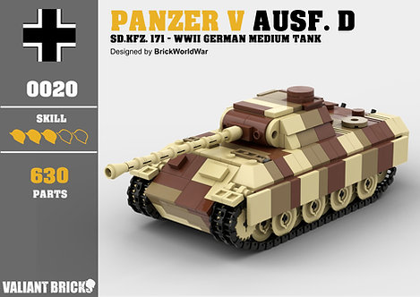Panzer V Panther Ausf. D Instructions