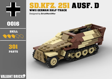 Sd.Kfz. 251 Ausf. D Instructions