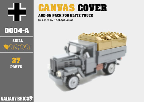 Canvas Cover Add-On for Blitz Truck