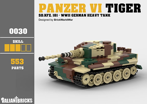 Panzer VI Tiger I Instructions
