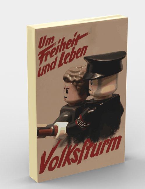 Propaganda Tile: Volkssturm