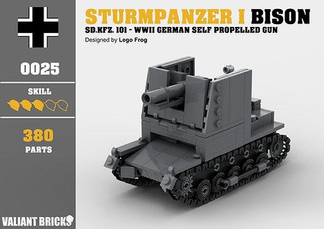 Sturmpanzer I Bison Instructions