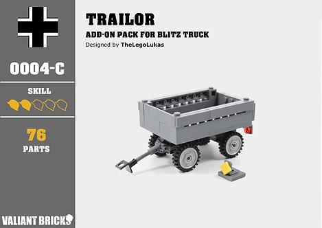 Trailor Add-On for Blitz Truck