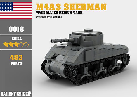 M4A3 Sherman Instructions