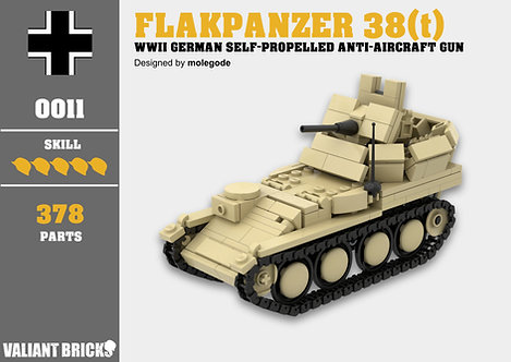 Flakpanzer 38(t) Instructions