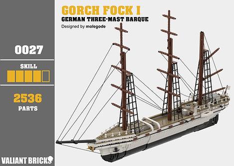 Gorch Fock I Instructions