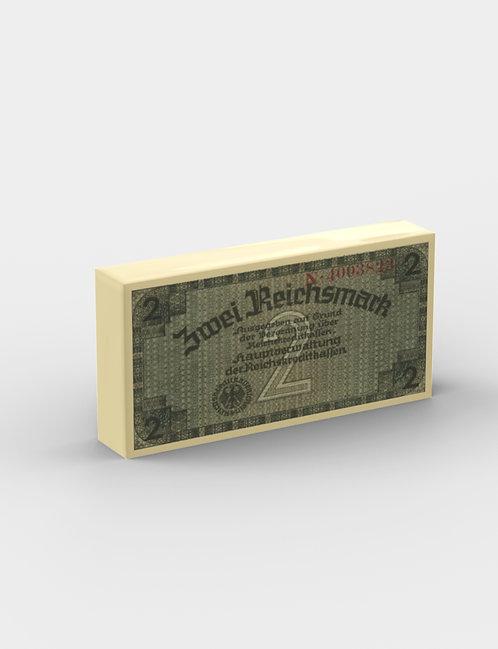 Zwei Reichsmark Banknote