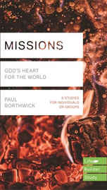 """£4.99 - Beginning with Genesis, the Bible is the story of God pursuing his people. In this study guide, you'll explore how God reaches out--through Jesus and through human ambassadors like us. You'll discover that the call to """"missions"""" is not for a select group but is a part of God's call to every Christian. And you'll begin to understand your own part in God's plan. This LifeBuilder Bible Study features questions for starting group discussions and for meeting God in personal reflection."""