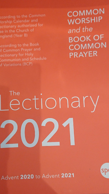 2021 Lectionary
