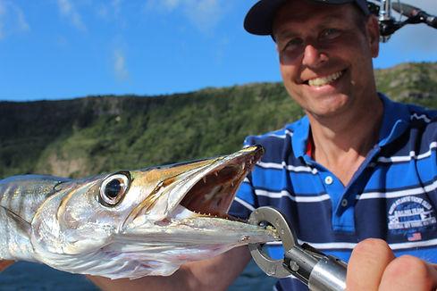 Big Barracuda in Azores