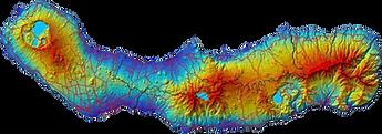 sao miguel island map