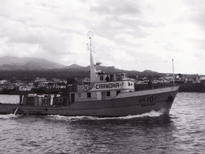 60's Tuna Fishing Boat
