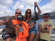 fishing with family azores