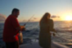 vissen in de Azoren