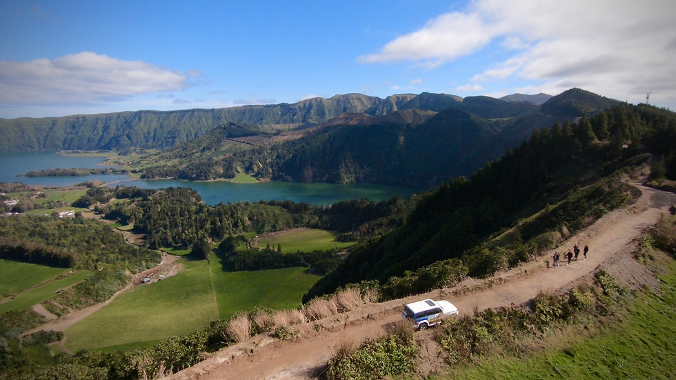 driving the summit azores