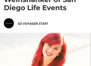San Diego Life Events Featured in the SD Voyager!