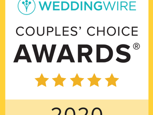 San Diego Life Events is a Couple's Choice Award Winner Three Years in a Row!