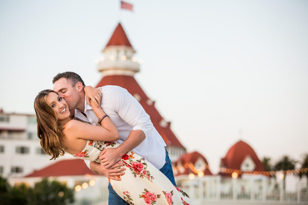 Photo in Coronado by True Photography: http://blog.truephotography.com/engagements/beach-engagement-photo-shoots/