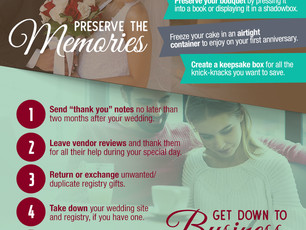 12 Things to do After the Wedding