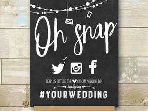 Top 4 Social Media Must Haves for Your Wedding or Party