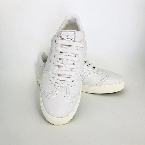 Tênis Valentino tam. 35 em couro branco