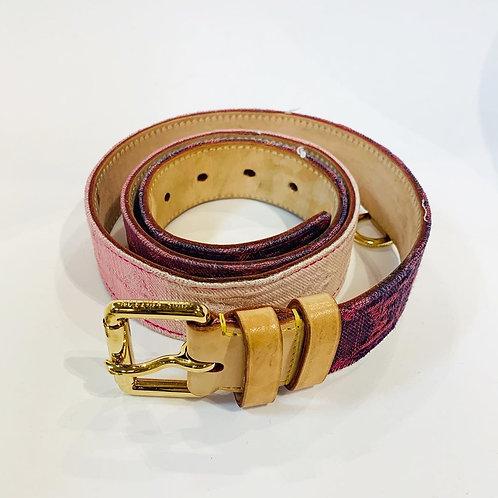 Cinto Louis Vuitton Rosa tam. 90/36
