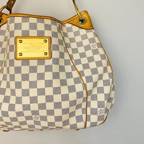 Bolsa Louis Vuitton Galliera em Damier Azur