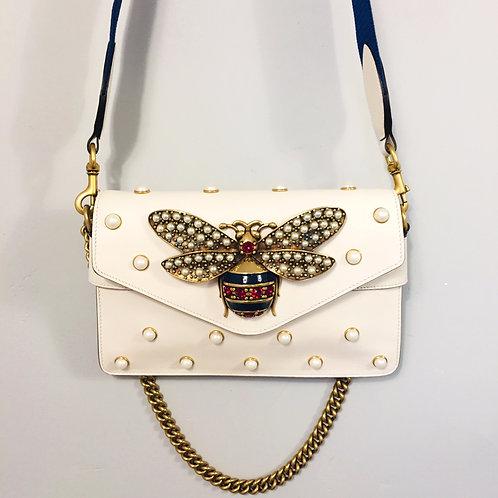 Bolsa Gucci Broadway Off White