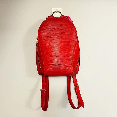 Mochila Louis Vuitton Mabillon Vermelha