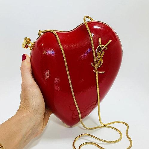 Bolsa Yves Saint Laurent Vermelha